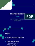 DOMMR Rheumatoid Arthritis
