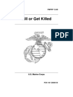 Kill or Get Killed (1991) - Rex Applegate - FMFRP 12-80 - Paladin Press