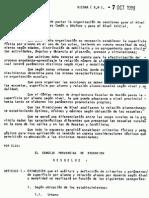 Resolución 2815_88 Pautas para la organización de secciones