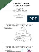 15 - Fundamentos Dos Solos - Física Dos Solos - Parte 3 - Aula 15 - Zoo.