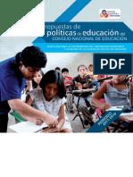 Políticas 2011-2015 CNE