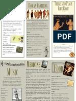 Western Civ Brochure