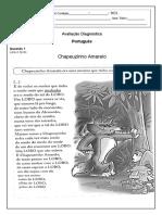 Avaliação de diagnostico - 4º ano