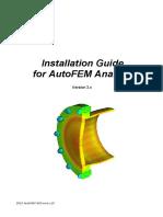 Installation Guide for AutoFEM