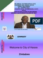 PROJECTS presentation_women empowerment_ Harare_ Philip Pfuk