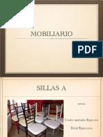 mobiliario presentacion