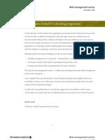 Risk Management Survey _PWC