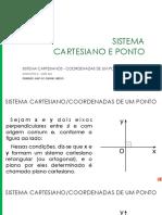 063 Sistema Cartesianos - Coordenadas de Um Ponto