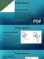 Protetor Térmico, Relé de Corrente, Capacitor (1)