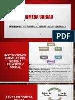 Clase No. 1 Antecedentes e Instituticiones Del Derecho Colectivo