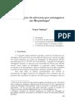 Exercício da advocacia por estrangeiros em Moçambique[1]