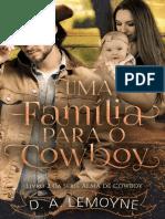 Uma Família Para O Cowboy 2 D.A Lemoyne
