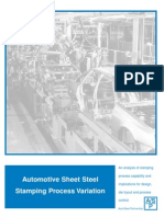 Automotive Sheet Steel Stamping Process Variation