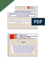 José Luis Graña Programa de tratamiento para menores infractores, Comunidad de Madrid