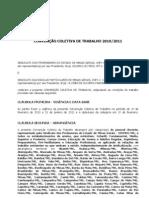 CONVENÇÃO COLETIVA DE TRABALHO 2010-2011