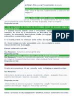 Direito Processual Penal - Processo e Procedimento