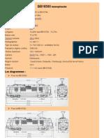 Modélisme ferroviaire à l'échelle HO. Fiche compos BB16500. Par Laurent Arqué