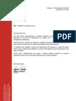 OF 0421-12 n. 2010 Relatório de votação on-line