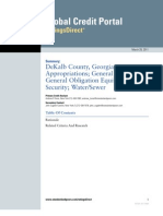 DeKalb GA SP Downgrade