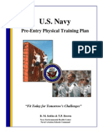 US Navy Fitness Training Plan