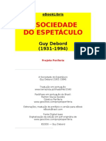 A SOCIEDADE DO ESPETÁCILO