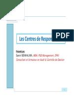 Partie 2_Les Centres de Responsabilité