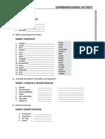 10 próbanyv-B1-Test 3-Arbeitsblatt