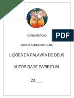 CONSAGRAÇÃO IBSC
