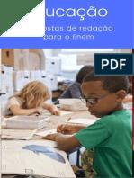 2 - Educação - Propostas de Redação