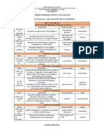 24. Agenda Semanal Agosto 2 Al 6 de 2021