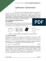 CH1_Les Amplificateurs Opérationnels
