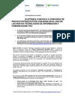 Fundación Telefónica convoca a instituciones educativas a participar en el 'Premio Internacional Educared 2011′