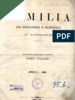 Familia Nr.1_1865- Primul Numar