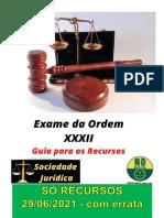 Guia  NDBrasileiro - EXAME XXXII - Só Recursos 29-06