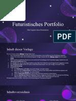 Futuristisches Portfolio by Slidesgo