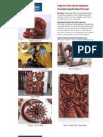 Import Ecuador Wood Sculpture