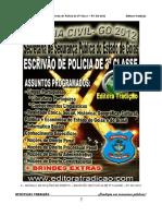 04 - MÓDULO DE NOÇÕES DE DIREITO - ESCRIVÃO DE POLÍCIA DE 3ª CLASSE - PC GO 2012