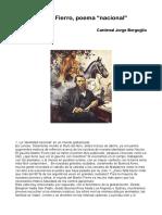 Mart_n_Fierro_poema_nacional_J_M_Bergoglio.pdf;filename= UTF-8''Martín Fierro poema nacional J M Bergoglio