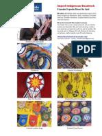 Ecuador Indigenous Bead Work for Export