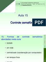 Controle Semafórico