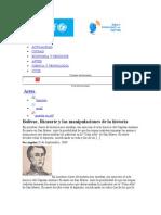 bolivar ricaurt y las manipulaciones de la historia