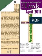 April 2011 Link Newsletter