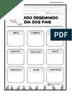 PEDAGOGAINGRID.COM DITADO DESENHADO DIA DOS PAIS