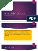 ECONOMÍA POLÍTICA CLASE 2
