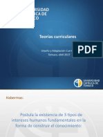 PPT Teorías curriculares -