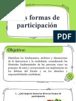 Clase IIIA - Formas de participación