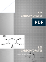 Les carbohydrates 1 (1)