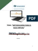 METODOLOGIAS PARA EL AULA VIRTUAL