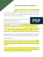 EL DESARROLLO DE LAS INSTANCIAS PSÍQUICAS ID