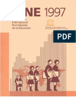 International Standard Classification of Education - 1997 version - ISCED_E